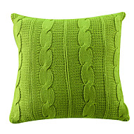 TWOPAGES® Acrylic Pillow Cover Solid Modern/Contemporary