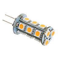 3W G4 / GU4(MR11) LED Corn Lights T 18 SMD 5050 180-220 lm Warm White / Cool White AC 12 V