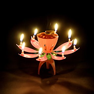 Sparking Lotus Bougie Favor
