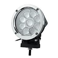 45W 9 LEDs Rund arbetsbelysning