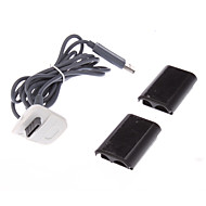2 Kind of USB Charging Cable Cord For Xbox 360 Wireless Controller