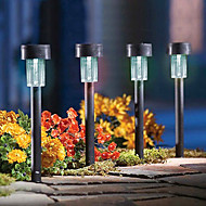 8 pcs,Led garden light solar ,Plastic Solar Lawn Light, lighting/garden lamp,Bright LED(CIS-57136)