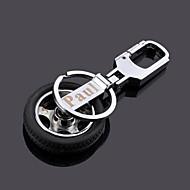 personlig bil hjul modle nyckelring - set om 4