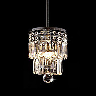 Ny stil 15cm Luxury Crystal lysekrone Dining Room anheng lys taklampe
