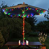 200 под руководством 22m солнечной энергии многоцветные Строка Фея свет лампы Xmas свадьбу декора сада