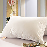 100% bomull Solid White Bed Pillow