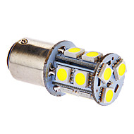 BAY15D/1157 13x5050SMD 3W 117LM 6000-7000K Cool White Light Bulb LED para carro (DC 12V)