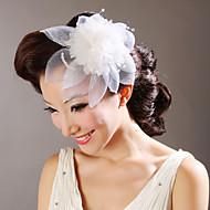 Tulle Blomster med krystal bryllup headpieces (flere farver)
