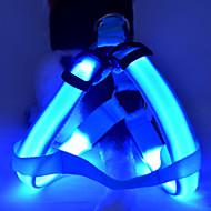 Psi Amovi LED svjetla / Prilagodljivo/Preklopni Jednobojni Srebrna / Obala / Zelen / Plav / Narančasta / Bijela / žuta Najlon