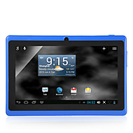 "7"" Android 4.4 WiFi Tablet(512MB,4GB,A33 Quad Core,Bluetooth,Dual Camera)"