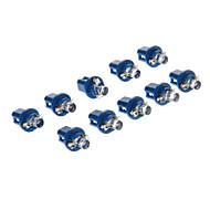B8.5D 1 LED-es 10-20LM Blue Light LED izzó a Car (12V, 10db)