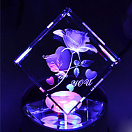 Modern Crystal Music Box-For Alice