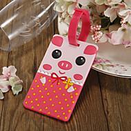 Pink Pig Oppbevaring Tag Favoriserer