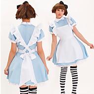 Costume da Alice nel Paese delle meraviglie, blu, in poliestere