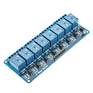 8 csatornás 12V relé modul (az Arduino) (működik hivatalos (az Arduino) táblák)