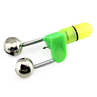 Fishing Bell/Double bell Fishing - 1 pcs - luminous / LED Green Hard Plastic - Uminous®Freshwater Fishing / General Fishing / Carp