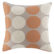 Polyester Pillow Cover , Polka Dots Modern/Contemporary