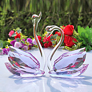 "5""Swan Type Crystal Collectibles(2 PCS)"