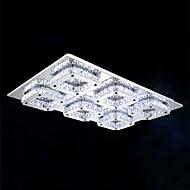 48 W 플러쉬 마운트 ,  컴템포러리 / 모던 일렉트로플레이티드 특색 for LED 금속 거실 / 침실 / 주방
