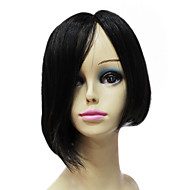 Lace Front Wig 100% Human Remy Hair Short Straight Bob Hair Wig
