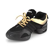 arco-íris para tear de couro reais sapatos de dança superior sapatilhas de dança moderna para mulheres / homens