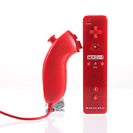 MotionPlus 2-in-1 et Nunchuk pour Wii/Wii U (Rouge)