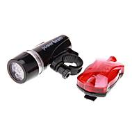 Kerékpár világítás / Kerékpár első lámpa / Kerékpár hátsó lámpa LED Kerékpározás Vízálló AAA 100 Lumen Akkumulátor