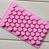 rakkaus sydämen muotoinen suklaa tarjotin, silikoni 55 reikää (väri randoms) cm-87