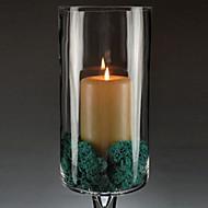 """19.75 """"Titular Modern Style H Cálice Tipo Glass Set vela (com vela)"""