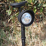 3 LED Outdoor Solar Powered Landscape Spot Light LED Yard Garden Path Lawn Lamp(CIS-57231)
