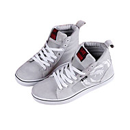 Men's Spring / Summer / Fall / Winter Comfort Canvas Outdoor / Casual / Athletic Flat Heel Lace-up Black / Red