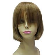 Capless Synthetic Short Brown Bob Hair Wig Fashion Short Wig