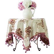 """Nappe européenne floral, Polyester 40 """"* 40"""" * 1.2 """""""