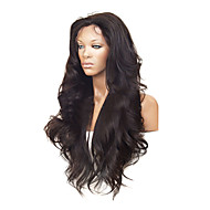 "26"" 100% Human Hair Celebrity Brazilian Hair Front Lace Wig"