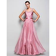 Prom / Formal Evening / Military Ball Dress - Plus Size / Petite A-line / Princess Straps Floor-length Chiffon