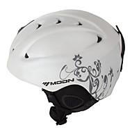 MOON Helmet Naisten Miesten Mountain Half Shell Sports Helmet Snow Helmet CE Maantiepyöräily Pyöräily Lumiurheilu Hiihto Lumilautailu