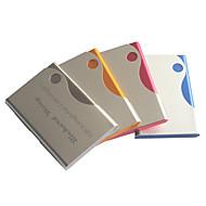 personlig fars dag gave slik farve indgraveret visitkortholder (assorterede farver)