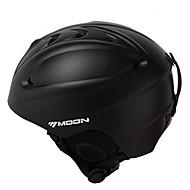 MOON Unsiex Matte Black Automne / Hiver ABS Ski / Snowboard Casque