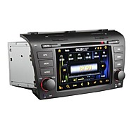 2 Din-Dash 7 Zoll Touch Screen Auto PC DVD-Spieler GPS-Bluetooth-Multimedia Wifi für MAZDA 3 (2004-2009)