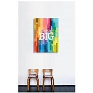 Canvastaulu Art Words unelma Big