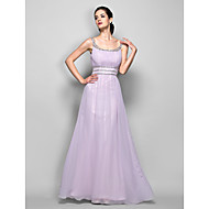 Formal Evening / Prom / Military Ball Dress - Lilac Plus Sizes / Petite Sheath/Column Scoop Floor-length Georgette
