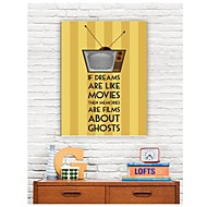 Palavras Arte em tela esticada piores filmes e fantasmas