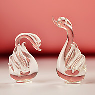 Gifts Bridesmaid Gift Crystal Swans Gift Favor - Set of 1 Pair