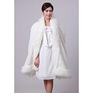 Fur Wraps / Wedding  Wraps / Hoods & Ponchos Capes Faux Fur Ivory Wedding / Party/Evening