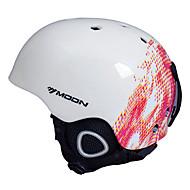Casque Vélo (Blanc / Rouge , EPS / PVC)-de Unisexe - Sports de neige / Sports d'hiver / Ski / Snowboard Sports Aération M : 55-59cm
