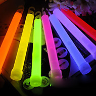 Colorful Plastic Glow Stick - Set of 12 (Random Color)