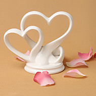 """Cake Toppers """"You're the Top"""" Interlocking Double Hearts Cake Topper"""