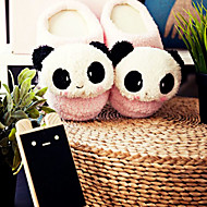Cute Pink Smiling Panda Uld Kvinders Slide Slipper