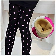Girls' Autumn And Winter Thick Warm Leggings
