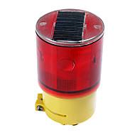 Sikkerhed Solar Power Warning Sign 6 LED-blitz lyskryds (CSS-57279)
